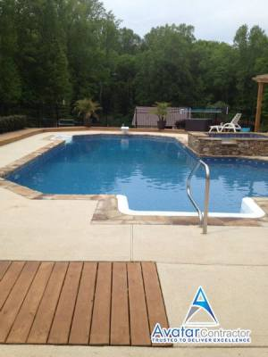 pools deck Roswell