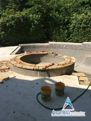 pool coping Canton