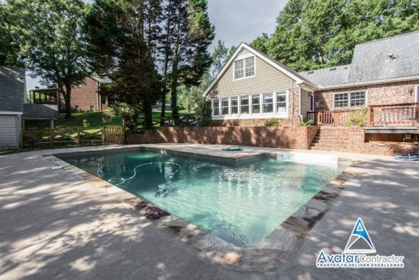 pool renovation Dunwoody