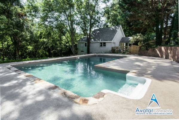 pool renovation Milton